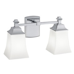 Norwell Lighting Sapphire Chrome Bathroom Light