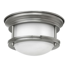 Hinkley Lighting Hadley Antique Nickel LED Flushmount Light