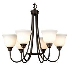 Dolan Designs Lighting Six-Light Chandelier 540-34