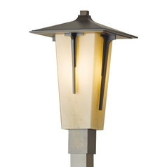 Hubbardton Forge Lighting Modern Prairie Bronze Post Light