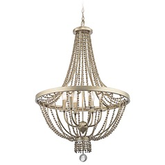 Kichler Birkdale 6-Light Chandelier in Sterling Gold