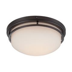 Designers Fountain Ramsey Oil Rubbed Bronze LED Flushmount Light