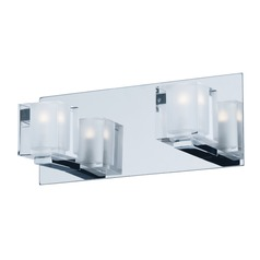 Blocs LED Polished Chrome LED Bathroom Light
