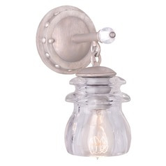 Kalco Lighting Brierfield Pearl Silver Bathroom Light