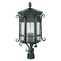 Maxim Lighting Scottsdale Country Forge Post Light