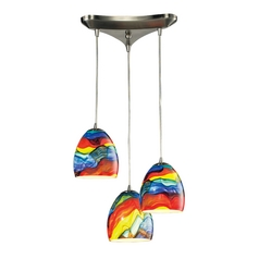 Multi-Light Pendant Light 3-Lights