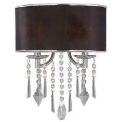 Golden Lighting Echelon Chrome Sconce