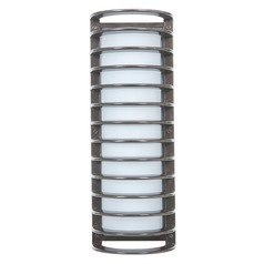 Access Lighting Bermuda Satin Nickel Outdoor Wall Light