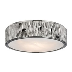 Hudson Valley Lighting Crispin Polished Nickel LED Flushmount Light