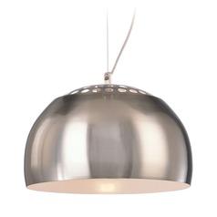 George kovacs mini pendant lights destination lighting george kovacs brushed nickel mini pendant light with bowl dome shade aloadofball Choice Image