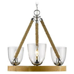 Golden Lighting Harland Chrome Chandelier