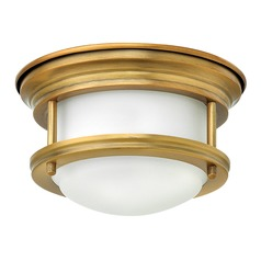 Hinkley Lighting Hadley Brushed Bronze LED Flushmount Light