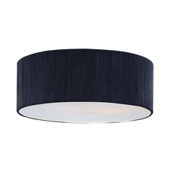 Black String Drum Lamp Shade