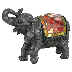 Quoizel Elephant Tiffany Lamp
