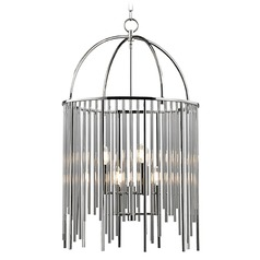 Lewis 6 Light Pendant Light - Polished Nickel