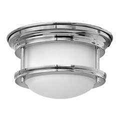 Hinkley Lighting Hadley Chrome LED Flushmount Light