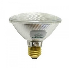 60-Watt PAR30 Tungsten Halogen Light Bulb with Wide Beam Spread