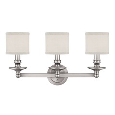 Capital Lighting Midtown Matte Nickel Bathroom Light