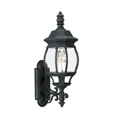 Sea Gull Lighting Wynfield Black LED Outdoor Wall Light