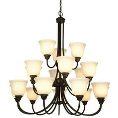 Dolan Designs Lighting Eighteen-Light Chandelier 541-34