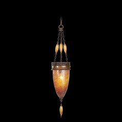 Fine Art Lamps Scheherazade Aged Dark Bronze Mini-Pendant Light