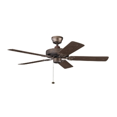 Kichler Lighting Kichler Ceiling Fan in Weathered Copper Finish 339520WCP
