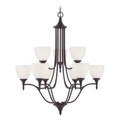 Savoy House Lighting Herndon English Bronze Chandelier