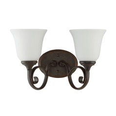 Craftmade Lighting Barrett Place Mocha Bronze Bathroom Light