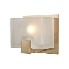 Elk Lighting Ridgecrest Satin Brass Sconce