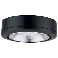 12V Xenon Puck Light Recessed / Surface Mount Black by Sea Gull Lighting