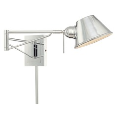 George Kovacs George's Reading Room Chrome Pin-Up Lamp
