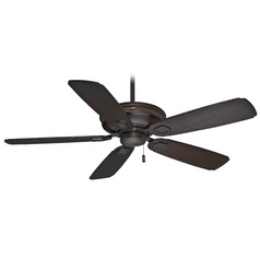 Casablanca Fan Heritage Brushed Cocoa Ceiling Fan Without Light