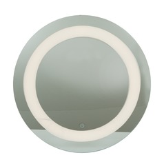 Spa Round 24.5-Inch Illuminated Mirror