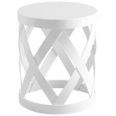 Cyan Design Warwick White Table