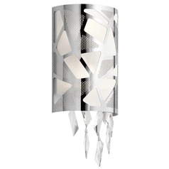 Elan Lighting Angelique Chrome Sconce