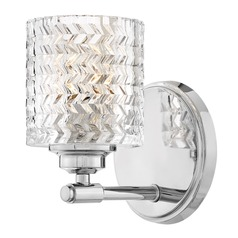 Hinkley Lighting Elle Chrome Sconce