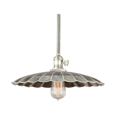 Pendant Light in Historic Nickel Finish