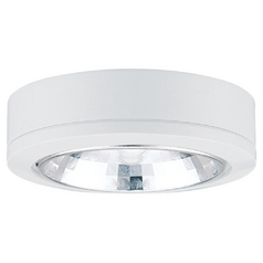 Sea Gull Lighting White 3.125-Inch Xenon Disk Light