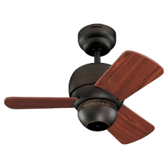Monte Carlo Fans Compact 24-Inch Ceiling Fan with Three Blades 3TF24RB