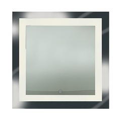 Spa Square 28.5-Inch Illuminated Mirror