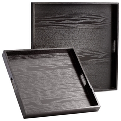 Cyan Design the James Black Limed Tray