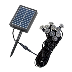 Kenroy Home Lighting Kenroy Home Lighting Mini String Light- Solar Black String Light 60506