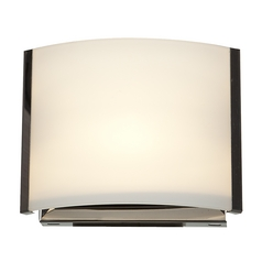 Access Lighting Nitro 2 Brushed Steel Sconce