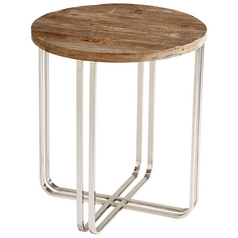 Cyan Design Montrose Black Forest Grove & Chrome Coffee & End Table