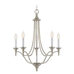 Savoy House Lighting Herndon Satin Nickel Mini-Chandelier