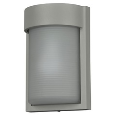 Access Lighting Destination Satin Nickel LED Outdoor Wall Light
