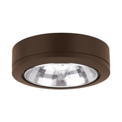 12V Xenon Puck Light Recessed / Surface Mount Bronze by Sea Gull Lighting