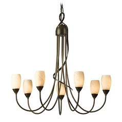 Hubbardton Forge Lighting Flora Bronze Chandelier