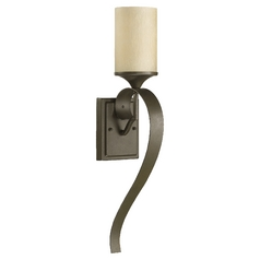 Quorum Lighting Atwood Oiled Bronze Sconce