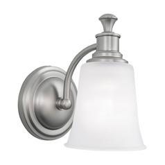 Norwell Lighting Sienna Brush Nickel Sconce